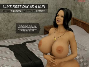 Foxxx- Lily First Day as a Nun
