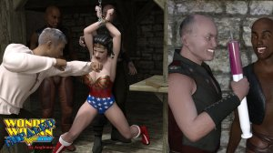 Angleman – Wonder woman Impaled