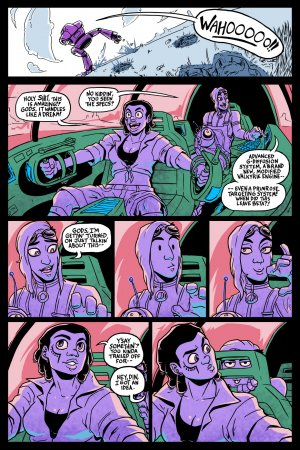 Tales From Planet XX - Mechro Disiac - Page 4
