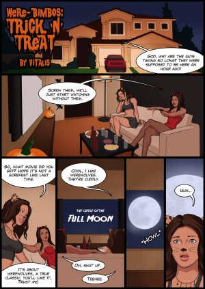 Vitalis- Were-bimbos: Trick N Treat