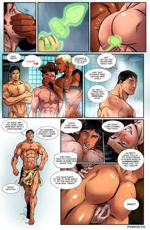 Superman gejowski komiks porno