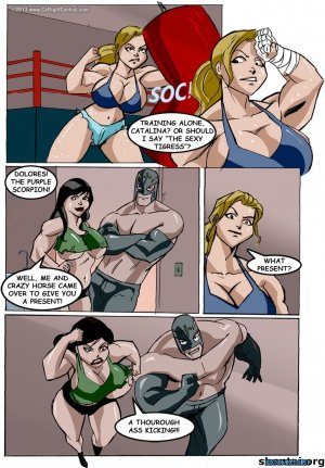 Lucha Libre XXX Part 4 & 7- Catfight