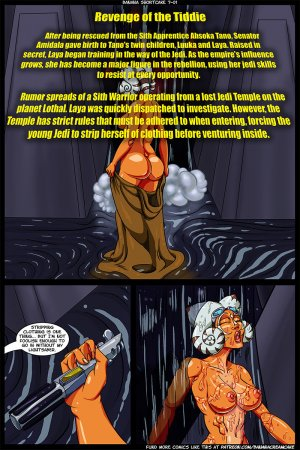Transmorpher DDS- Banana Shortcake 7- Star Whores – Revenge of the Tiddie - Page 2