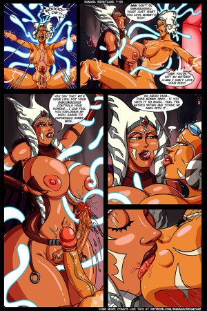 Transmorpher DDS- Banana Shortcake 7- Star Whores – Revenge of the Tiddie - Page 7