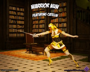Scorpio69- Warrior Nun – Featuring Catelin