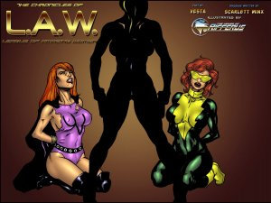 The Chronicles Of L.A.W. Issue 1-4