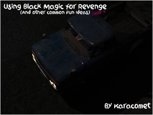KaraComet- Using Black Magic for Revenge Issue 4