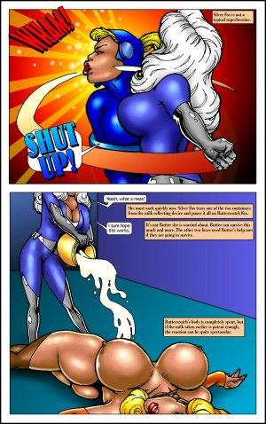 Butterscotch Fox Live by Polls- Superheroine - Page 46