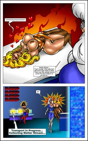 Butterscotch Fox Live by Polls- Superheroine - Page 55