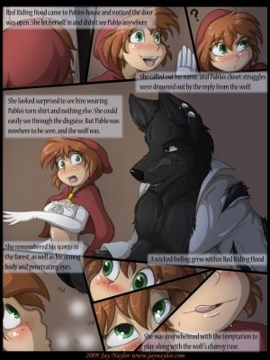The fall of little red riding hood - Page 9