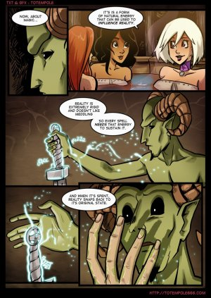 The Cummoner- APPRENTICE- Totempole - Page 13