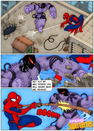 Spider-Man Screws Supervillain- OLSH