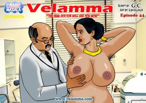 Velamma 44- Real Doctor Will See You