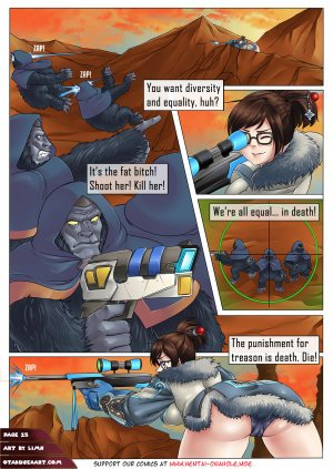 Pervywatch: Rebellion of the Apes - Page 21