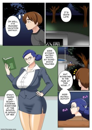 BlueBullPen - Teacher Taming - Page 2