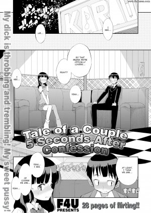 F4U - Tale of a Couple 5 Seconds After Confession - Page 1