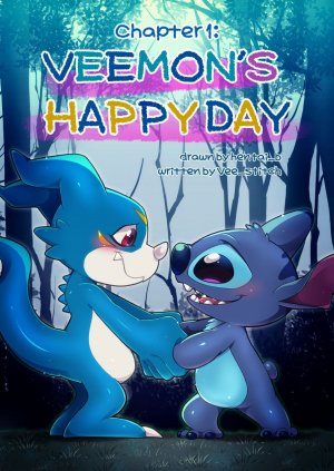 Veemon's Happy day