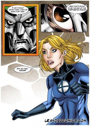 Invisible Woman save the Fantastic Foursome - Page 4