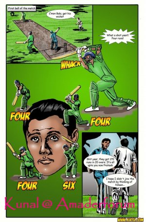 Saath Kahaniya Episode 3- Cricket - Page 19