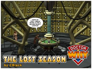 CBlack- Dr. Why- The Lost Season - Page 1