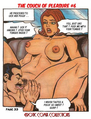 "Couch of Pleasure 6 – Dr. Peterman's Formula ""K"" - Page 35"