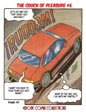 "Couch of Pleasure 6 – Dr. Peterman's Formula ""K"" - Page 49"