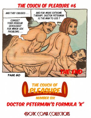 "Couch of Pleasure 6 – Dr. Peterman's Formula ""K"" - Page 62"