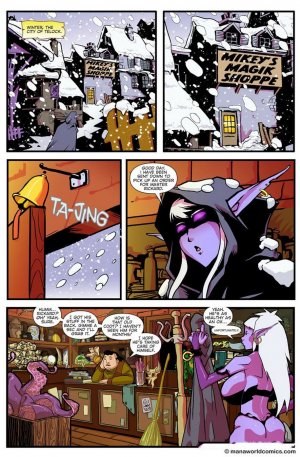 Mickey`s Magic Shoppe- Chapter 2 - Page 1