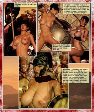 300 Amazons-Queen of Sparta Barbarianbabes - Page 4