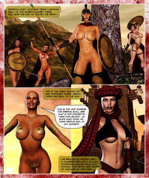 300 Amazons-Queen of Sparta Barbarianbabes - Page 21