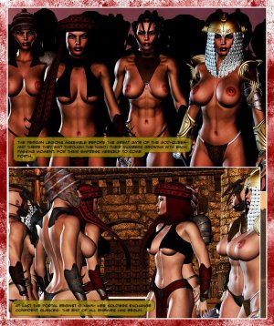 300 Amazons-Queen of Sparta Barbarianbabes - Page 22