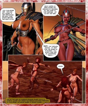 300 Amazons-Queen of Sparta Barbarianbabes - Page 28