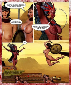 300 Amazons-Queen of Sparta Barbarianbabes - Page 35