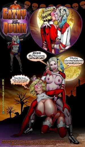 Harley Quinn -Cathy Canuck- Smudge - Page 3