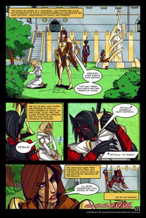 Bound by Duty- Old School Fantasy Drama - Page 4