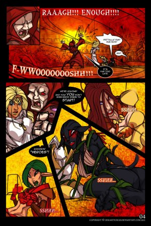 Bound by Duty- Old School Fantasy Drama - Page 7