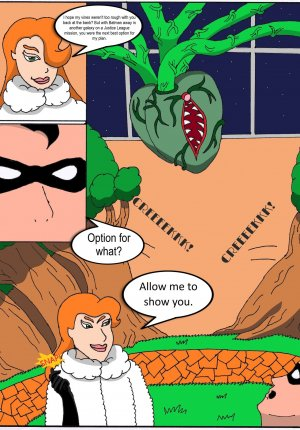 Elicitation of his Intimate Seed- Poison Ivy and Robin - Page 7