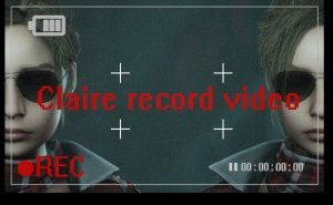 Claire record video