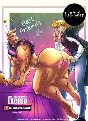 Best Friends- Special Halloween by Exceso