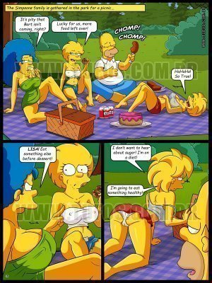 The Simpsons  - Forbidden Picnic - Page 2
