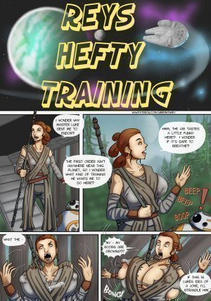 Rey's Hefty Training