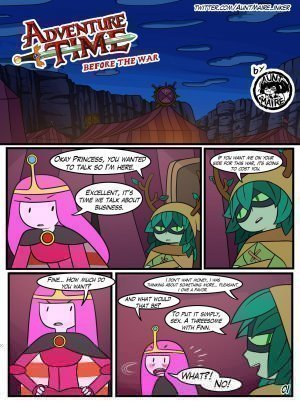 Adventure Time: Before the War - Page 1