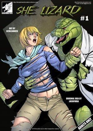 Hulk porno komiks