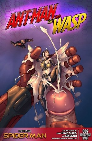 Tracyscops- Ant Man And The WASP 2 – [Spider-Man]