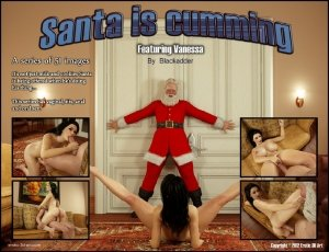 Santa is Cumming- Blackadder