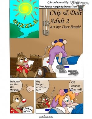 Chip n Dale- Animalise (Rescue Rangers) - Page 23