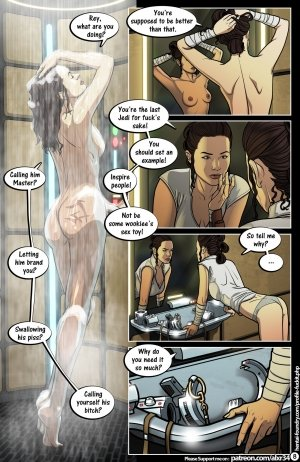 Star Wars: A Complete Guide to Wookie Sex III - Page 9