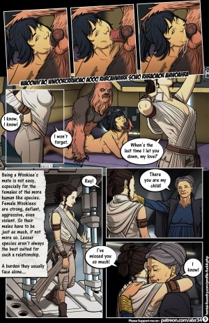 Star Wars: A Complete Guide to Wookie Sex III - Page 10
