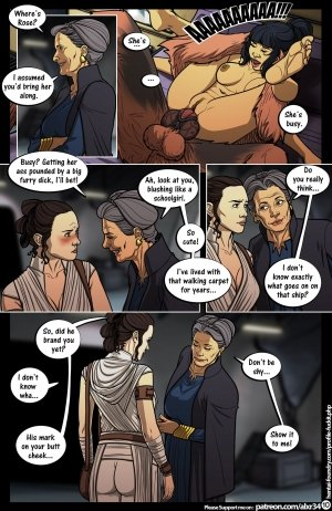 Star Wars: A Complete Guide to Wookie Sex III - Page 11