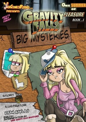 Gravity Falls Big Mysteries-English